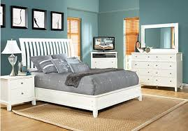 Anderson King White 5Pc Sleigh Bedroom | cozy home | King bedroom ...