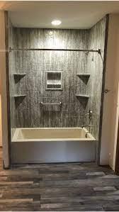 bathroom shower walls