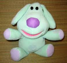 blues clues green puppy plush. Blues Room Clues Polka Dots Green Puppy 12\ Plush U
