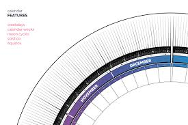 Circle Calendar Template Circular Calendar Template Magdalene Project Org
