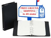 6 Inch Binders 6 Ring Little Tiny Binders And Filler Paper