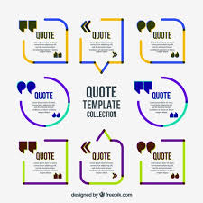 Colored Minimalist Quote Frames Free Vector | List | Pinterest ...