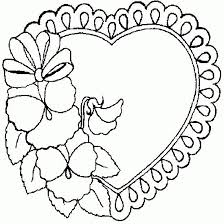 Small Picture 125 best Valentines Day Coloring images on Pinterest Coloring
