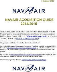 Navair Acquisition Guide 2014 Pdf Free Download