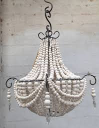 Small French Ceramic Bead Chandelier Wwwhellooowcoza