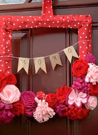 Valentine Door Decoration Ideas Prepossessing Accessories Home Valentine Front Door Ideas Display