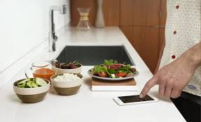 Countertop For Kitchen This Gadget Makes Your Entire Kitchen Smart
