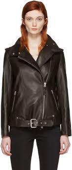 mackage black leather selenia jacket women mackage adali black mackage wool leather jacket