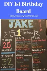 diy chalkboard birthday signs