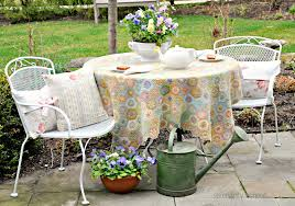 serendipity refined blog white spray painted metal patio in outdoor furniture paint metal