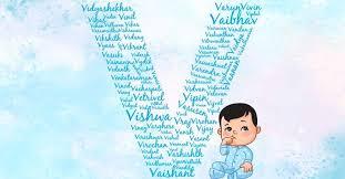 baby boy names starting with v v