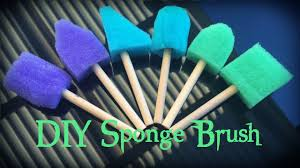 [DIY] Foam Brushes For Cosplay Painting - YouTube