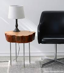 Coffee Table Tree Tree Trunk Side Table Technically Reclaimed Wood Tables And