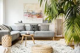 In this family room, the sofa is placed away from the wall, making it easy to access the door and move through the space without cutting through the main conversation area. Modern Wall Decor Ideas And How To Hang Them Mymove