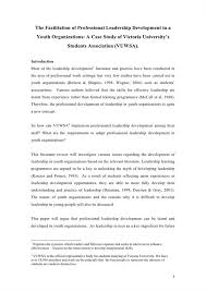 Dissertation Literature Review Sample Lit Review Examples