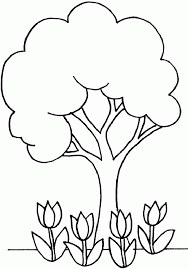 Free trees coloring page to download. Tree Coloring Pages Free Coloring Home