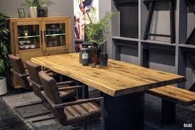 modern dining table with bench. View In Gallery Modern Dining Table With Bench