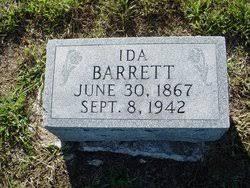 Ida Barrett (1867-1942) - Find A Grave Memorial
