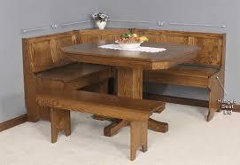 image of wood breakfast nook furniture breakfast furniture
