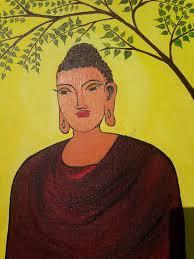 Buddha Painting by priya hamsa prabhakar   Saatchi Art