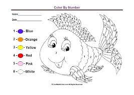 Coloring Worksheets For Preschool Preschool Colors Kindergarten