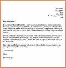 resignation letter 1 week notice 35dc8bf7eb81e d6dfb596ce429 two weeks notice letter quitting job