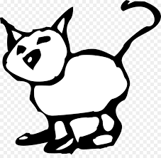 Con mèo đen phim Hoạt hình, Đen và trắng Clip nghệ thuật - phim hoạt hình  trắng. png tải về - Miễn phí trong suốt Đơn Sắc Nhiếp ảnh png Tải về.