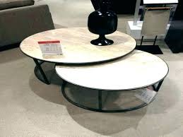 marble nesting coffee table world market