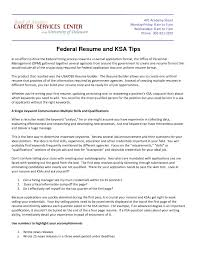 Federal Resume Federal Resume Resume For Federal Jobs Awesome Usa