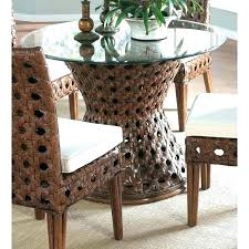 round glass table for 6 square dining table round glass table top astonishing dining table rattan