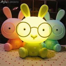 <b>Modern</b> Cute Baby Bedroom Lamp Rabbit <b>Night Light Led</b> Night ...