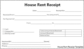 Cheque Payment Receipt Format In Word