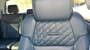 2016 toyota tundra platinum crewmax 4x4 quilted seats