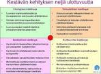 kestävän kehityksen sosiaaliset periaatteet jyvaskyla