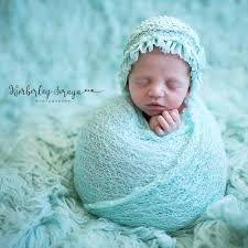 New 150x40cm Mohair Stretch Knit Wrap Newborn Baby ...