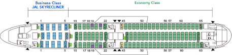 Boeing767 300er 763 Aircrafts And Seats Jal