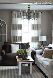 Pleasant What Colour Curtains Go With Dark Brown Sofas About Home