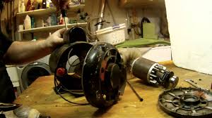 electric motor repair disembly and reembly