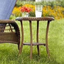 Wicker Patio Furniture Sets Cheap Shop Wicker Patio Tables Outdoor