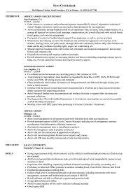 Office Admin Resume Samples Office Admin Resume Samples Velvet Jobs