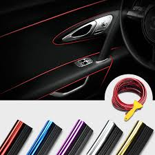2019 5M <b>Car Styling</b> Brand Stickers And Decals Interior Decorative ...