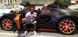 In mayweather's car collection, this one features a 267 mph top speed. Floyd Mayweather Is Selling His Bugatti Veyron Grand Sports