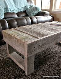 Barn Wood Coffee Table,  Http://bec4 Beyondthepicketfence.blogspot.com/2015/02/barn Wood Coffee Table And Change.html  | Pinterest | Wood Coffee Tables, Barn ...