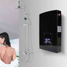 220V 8500W elektrikli anında su ısıtıcı banyo ses kontrolü duş haznesiz su  ısıtıcı mutfak duvara monte su ısıtma Electric Water Heaters