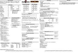shadowrun 5 character sheet 5e first time gm looking for advice on players characters shadowrun