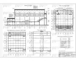 Скачать бесплатно дипломный проект ПГС Диплом №  3 План 2 го этажа разрез план перекрытий план кровли jpg