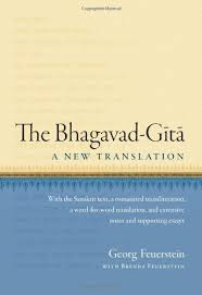 will the real bhagavad gita please stand up  give it to an historian and you get history feuerstein
