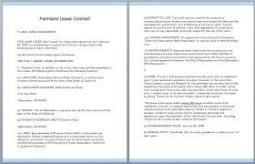 lease contract template commercial lease contract template free template downloads
