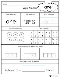 Cvc Worksheets For Kindergarten Free Printable Worksheets For ...