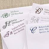 Monogram Return Address Labels Personalized Monogrammed Gifts Gifts Gifts For Monogrammed Gifts